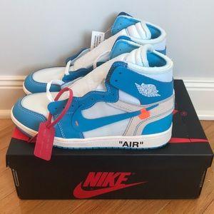 Air Jordan 1 X Off-White University Blue